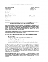 ECRA Response To Lion Green Road Planning Application 13/02178/P – Supermarket and Health Centre