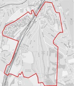 ECRA area map